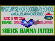 Embedded thumbnail for Sheick Hamma suratul ankabute Part 3