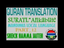 Embedded thumbnail for Sheick Hamma suratul ankabute Part 4